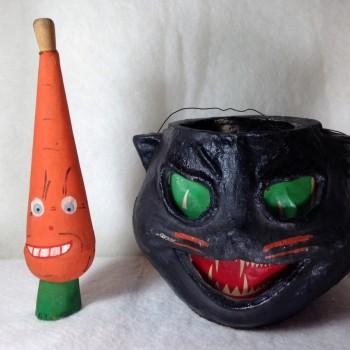 Carrot Horn and Black Cat Lantern