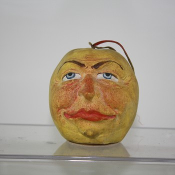 Fabulous Apple-Head Man Candy Container