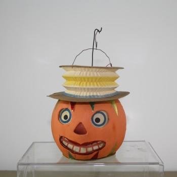 Accordion Hat Jack O Lantern