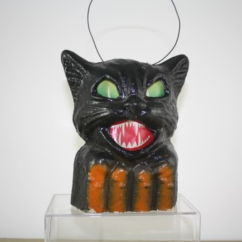 Hissing Black Cat Lantern