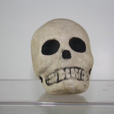 Papier-mache Skull